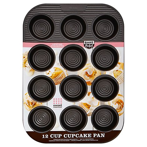 Sweet Creations Cupcake Pan 12cp Ns - Each