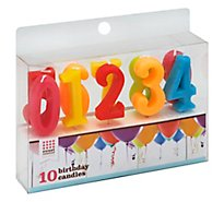 Sweet Creations Bday Candle 0-9 Set - Each