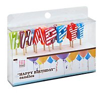 Sweet Creations Bday Candle Happy Birthday - Each