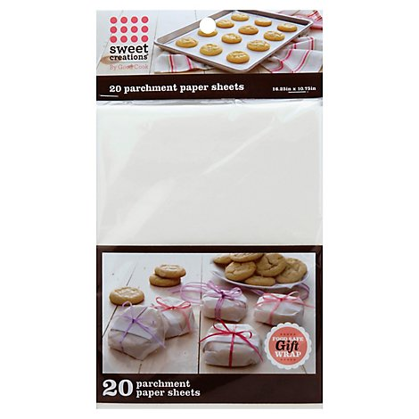 Sweet Creations Parchment Paper 16x10 20ct - 20 Count