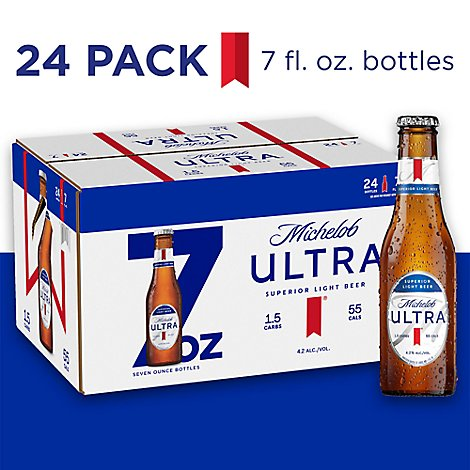 Michelob Ultra In Bottles - 24-7 Fl. Oz.