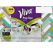 Viva Paper Towels Pop-Up 1-Ply White Box - 60 Count