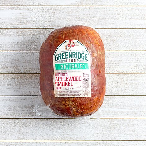 Greenridge Farm Ham Applewood Smoked - 0.50 LB
