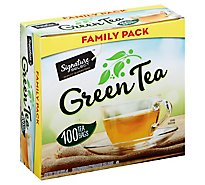 Signature SELECT Green Tea Bags Family Pack - 100 Count