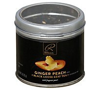 Signature Reserve Tea Loose Leaf Ginger Peach - 3.53 Oz