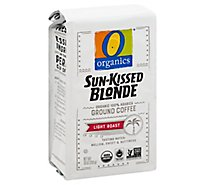 O Organics Coffee Sun Kissed Blonde Ground - 10 Oz