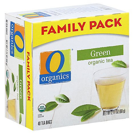 O Organics Tea Green - 40 Count