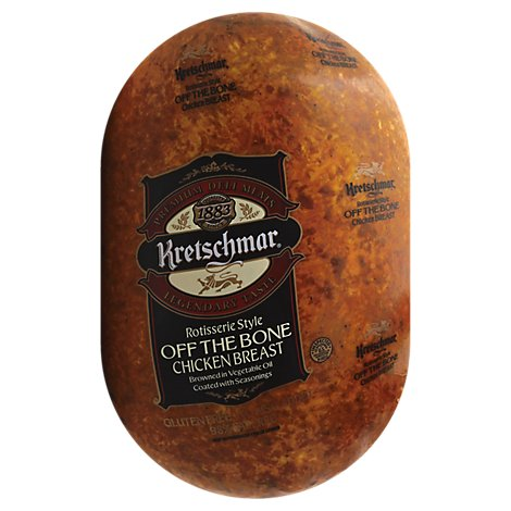 Kretschmar Chicken Breast Rotisserie Off The Bone Pre Sliced - 0.50 LB