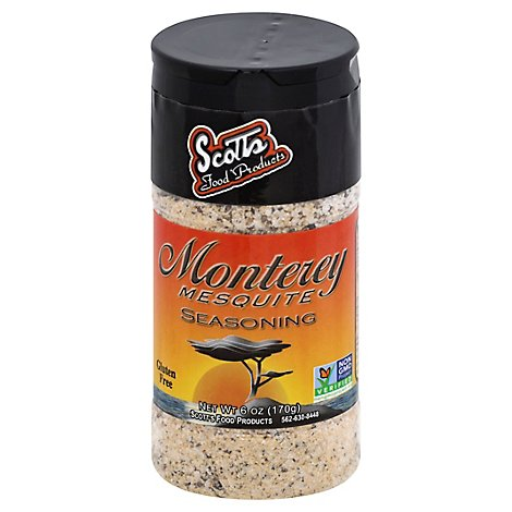 Scotts Monterey Mesquite Seasoning - 6 Oz