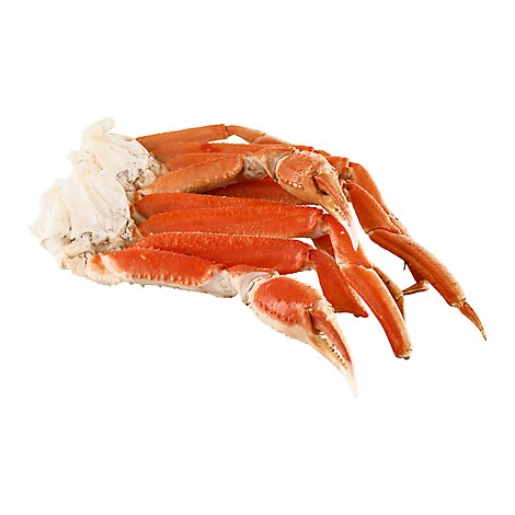Seafood Counter Snow Crab Clusters 8 Up Service Case - 1.00 LB