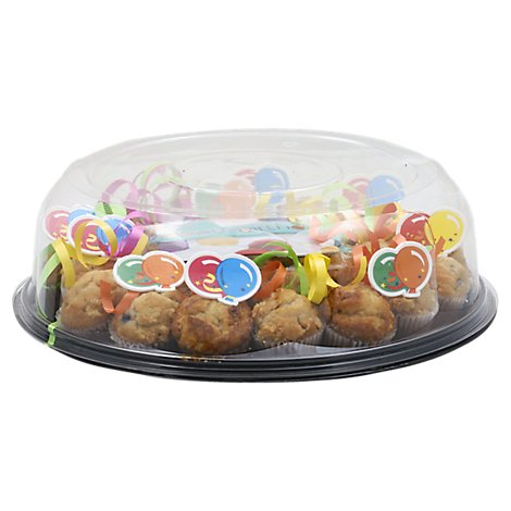 Muffins Assorted Mini Party Tray 30 Count