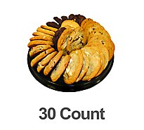 Bakery Cookies Tray Gourmet 30 Count