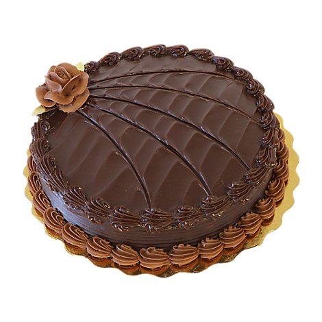 Bakery Cake Double Fudge Premium 8 Inch1 Layer