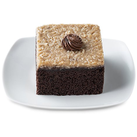 Bakery Cake Slice German Chocolate 1 Count