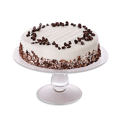 Bakery Cake Chocolate Decorated Butter Cream Iced 8 Inch1 Layer