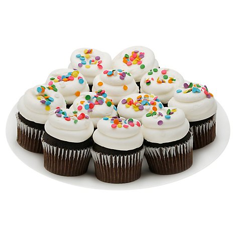 Bakery Cucake Chocolate With Van Buttercream 12 Count