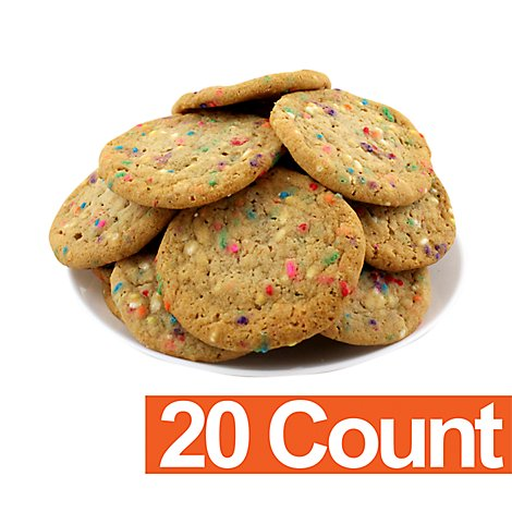 Bakery Cookies Cake Batter Confetti 20 Count