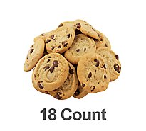 Bakery Cookies Peanut Butter Milk Chocolate 18 Count