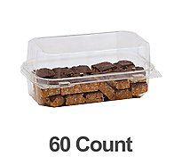 Bakery Tray Crispy Bites Peanut Butter 60 Count