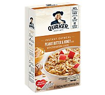 Quaker Instant Oatmeal Peanut Butter & Honey 9.3 Ounce 6 Pack - 9.3 Oz