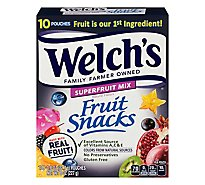 Welchs Fruit Snack Super Fruit - 8 Oz