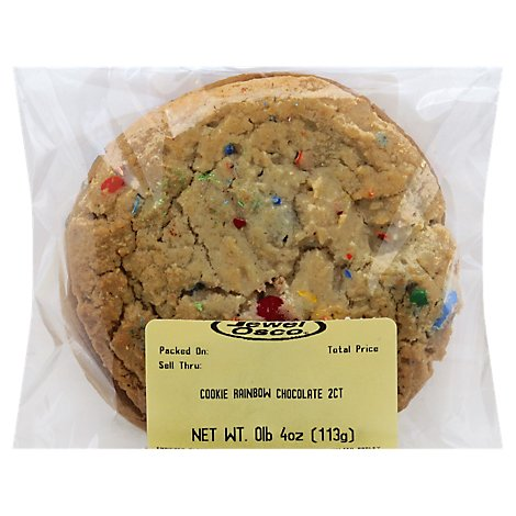 Bakery Cookies Rainbow Chocolate 2 Count