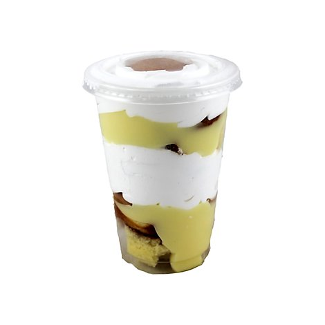 Parfait Cup Yellow Whip Cream