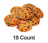 Bakery Cookies Chocolate Chip With Candy 18 Count