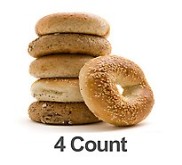 Bakery Bagels Variety 4 Count
