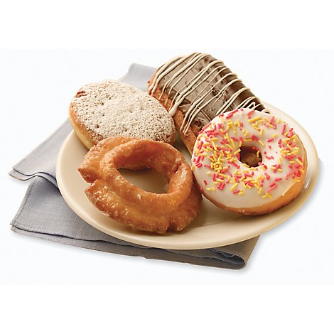 Donuts Assorted Everyday 4 Count