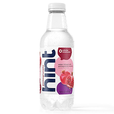hint Water Infused With Pomegranate -12-16 Fl. Oz.