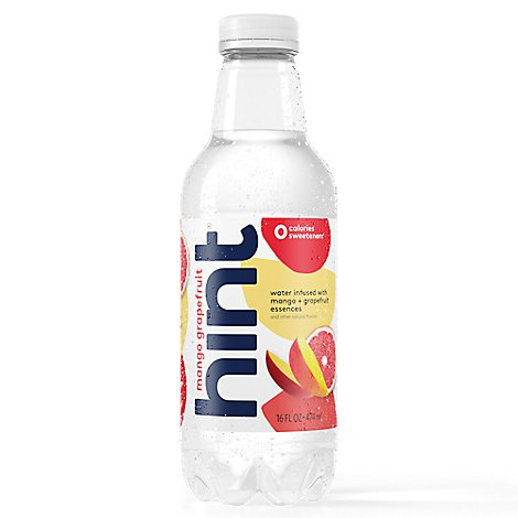 hint Water Infused With Mango Grapefruit - 12-16 Fl. Oz.
