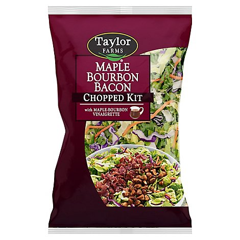 Taylor Farms Maple Bourbon Bacon Chopped Salad Kit - 12.8 Oz