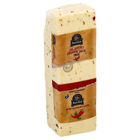 Boars Head Bold 3 Pepper Colby Jack Cheese Cubes 0.5 LB