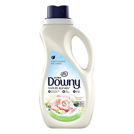 Downy Ultra Fabric Conditioner Nature Blends Honey Rosewater & Aloe - 44 Fl. Oz.
