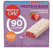 P1 Prtn Bars Strawberries Creme - 4.8 Oz