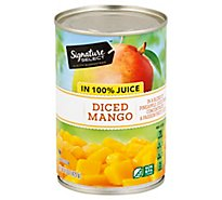 Signature SELECT Mango Diced In Juice - 15 Oz