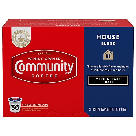 Community Coffee House Blend - 36 Count
