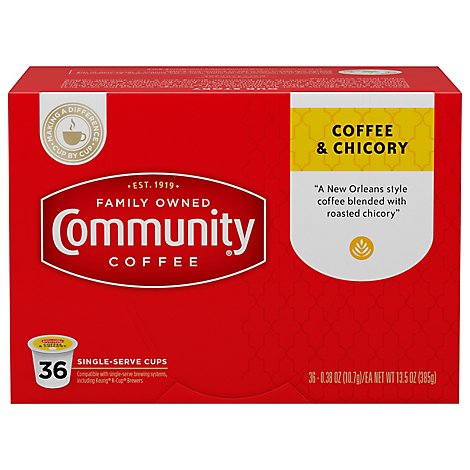 Community Coffee & Chicory - 36 Count