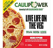 CAULIPOWER Pizza Uncured Pepperoni Frozen - 12 Oz