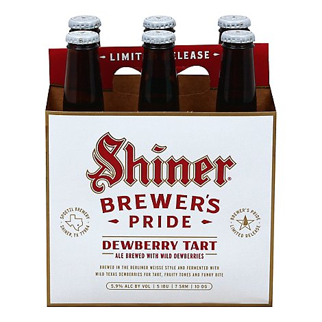 Shiner Brewer S Pride In Bottles - 6-12 Fl. Oz.