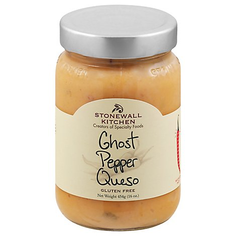 Stonewall Kitchen Ghost Pepper Queso - 16 Oz