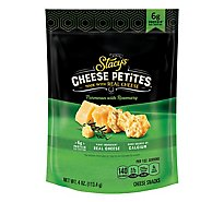 Stacys Cheese Petites Parmesan & Rosemary - 4 Oz