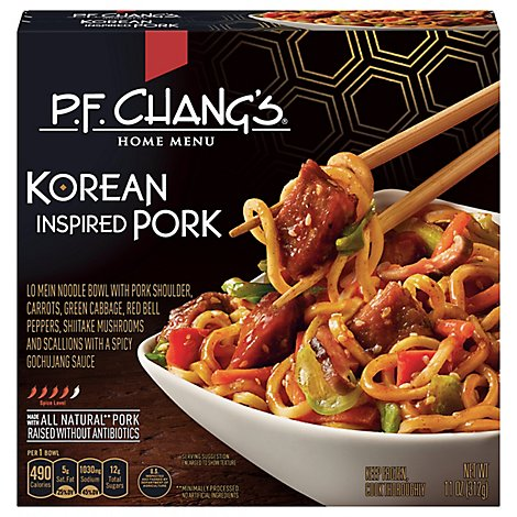 Pf Changs Pork Korean Noodle Bowl - 11 Oz
