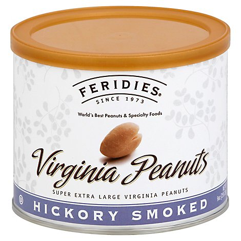 Feridies Hickory Smoked Peanuts - 9 Oz