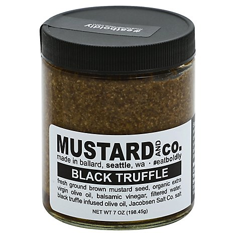 Mustard & Co Black Truffle Mustard - 6 Oz