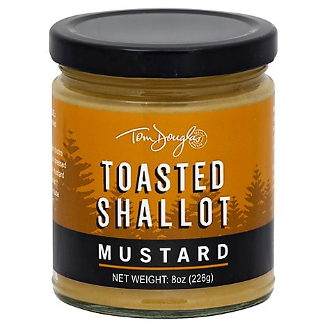 Tom Douglas Toasted Shallot Mustard - 8 Oz