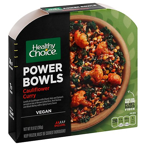 Healthy Choice Power Bowl Cauliflower Curry - 9.9 Oz