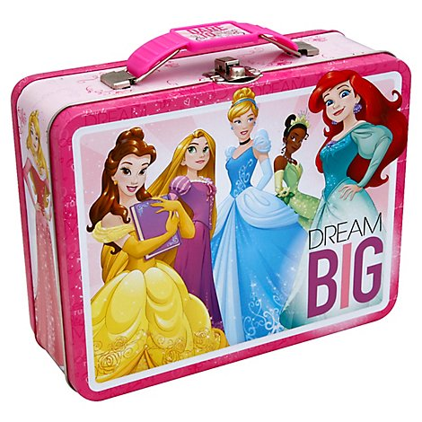 Tin Disney Prncs Carry All - 6 Count