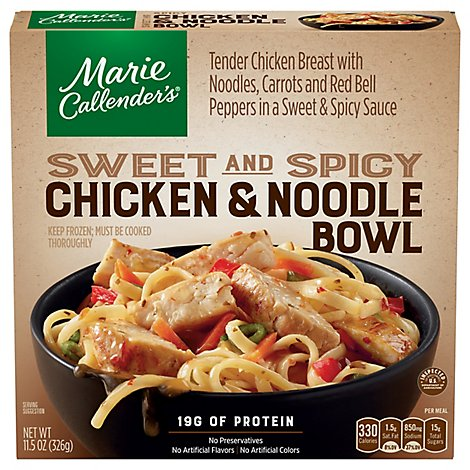 Marie Callenders Thai Style Chicken And Noodles - 11.5 Oz